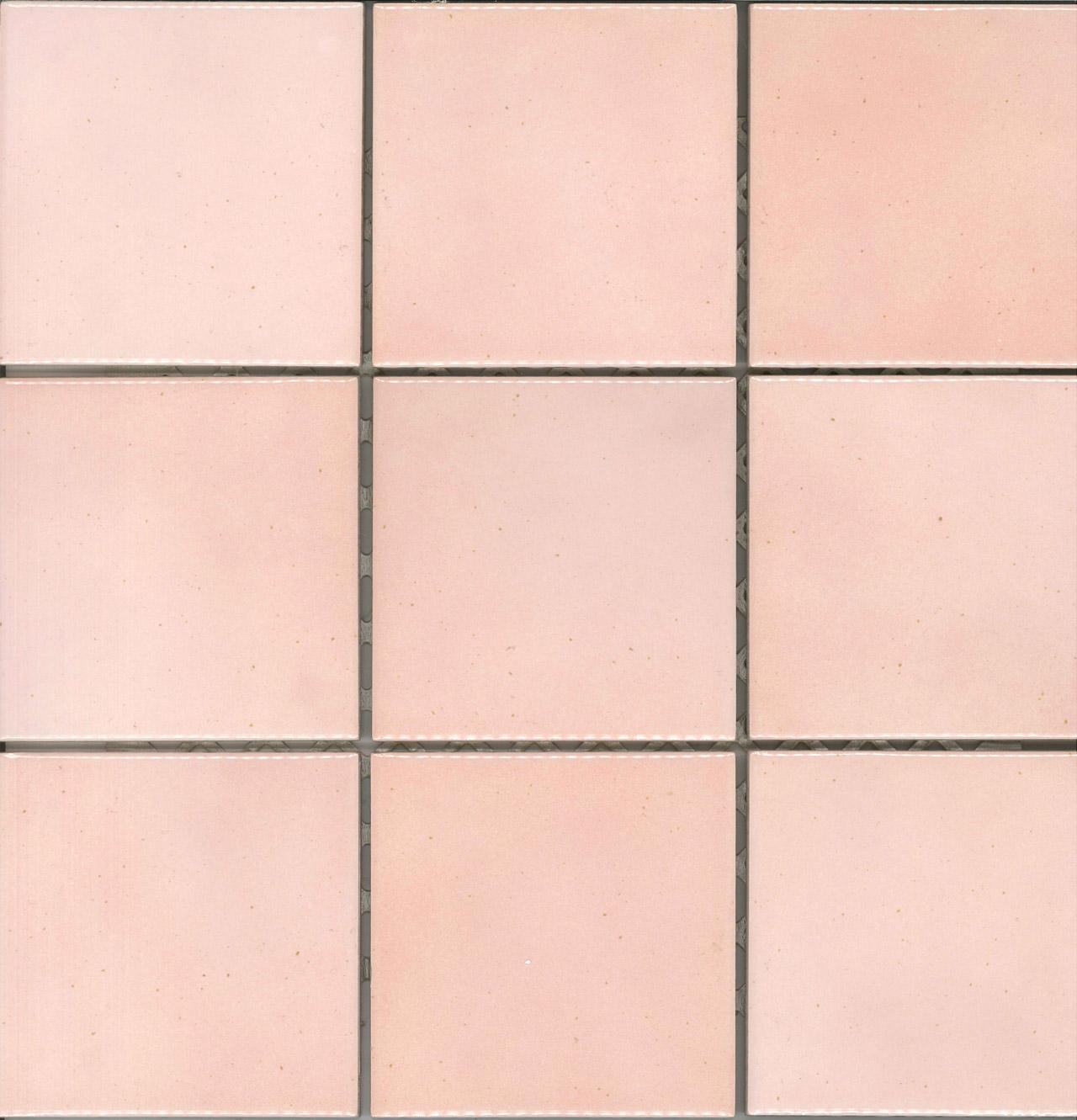 gloss pink glazed ceramic kitchen wall tile