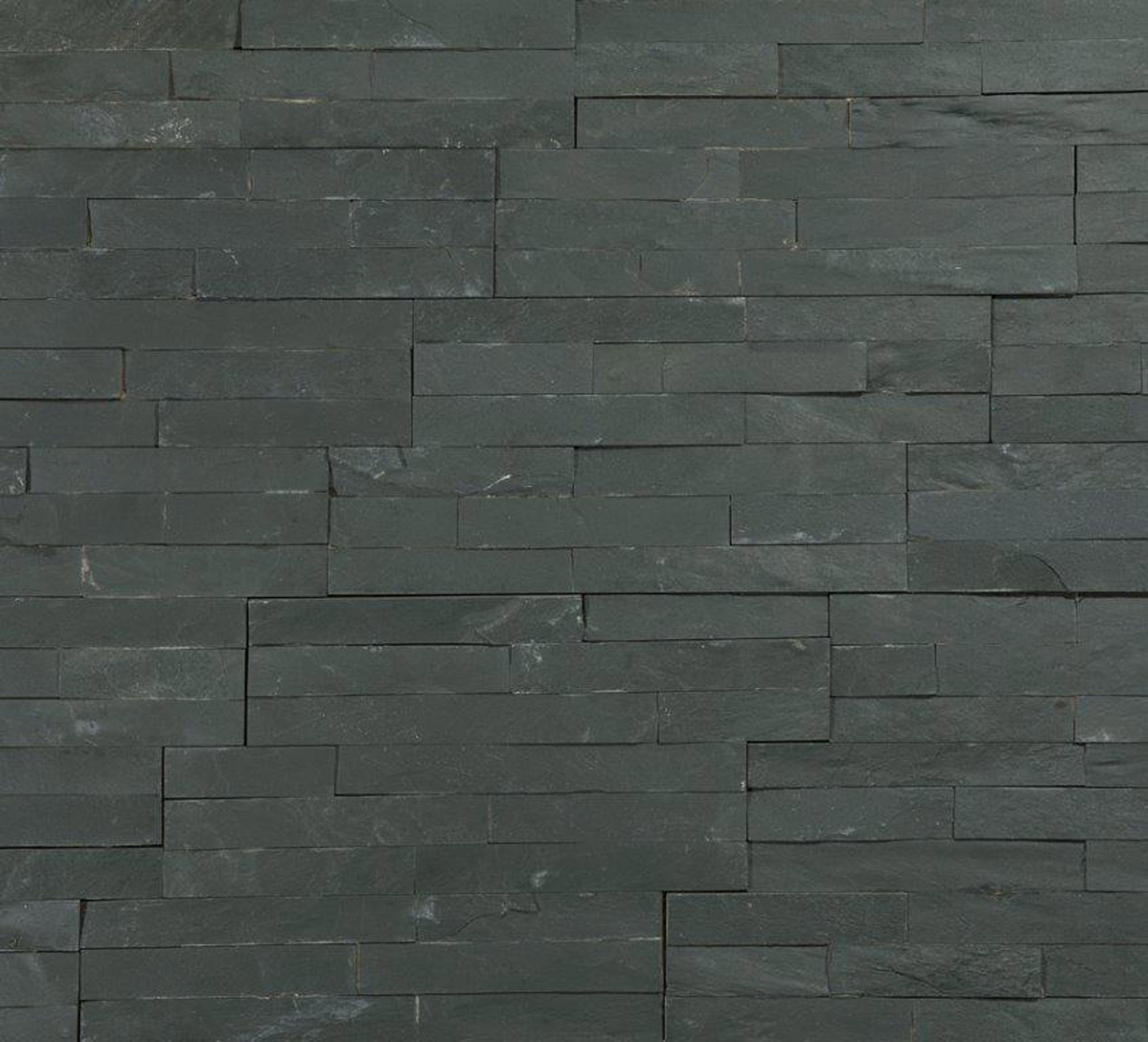 Stunning variagated split face slate 3d mosaic tiles for Split wall