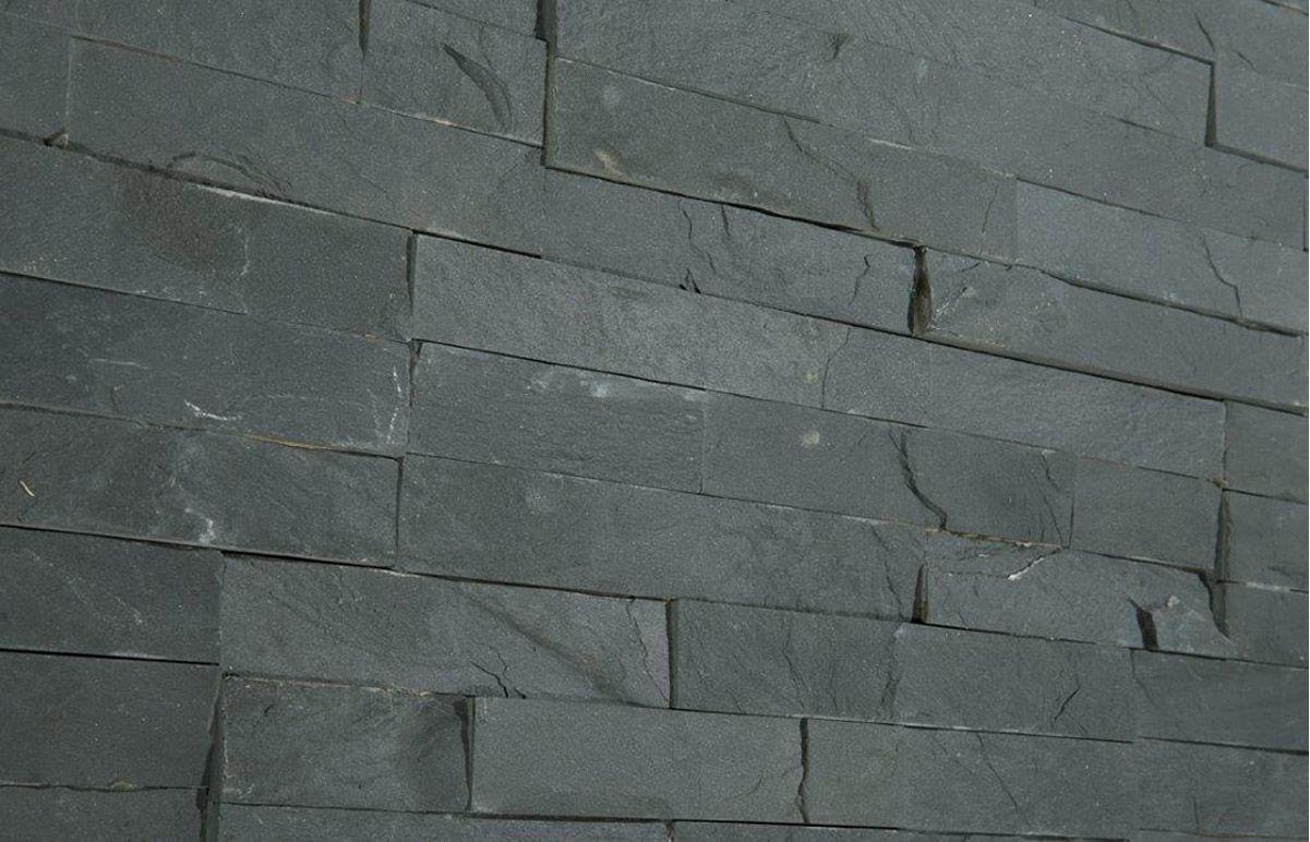 Stunning Variagated Split Face Slate 3d Mosaic Tiles
