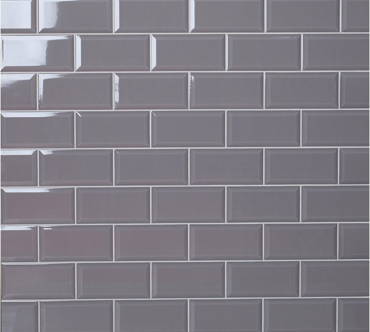 Grey Slate Kitchen Wall Tiles: Metro Ambience Slate Grey Brick Shaped Wall Tile With A